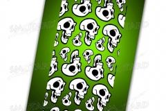 bandana-tubolare-smotard- skullit green