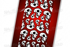 collare-tubo-smotard- skullit red